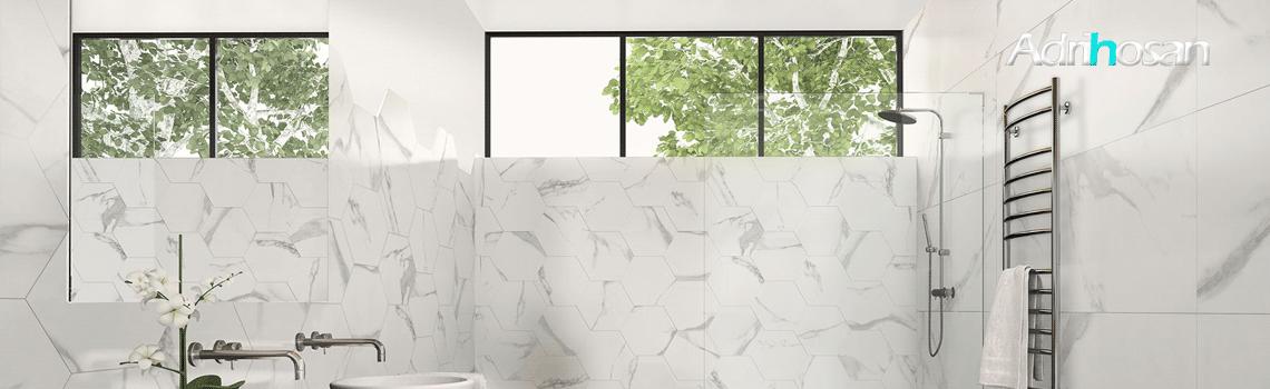 Revestimientos, azulejos para paredes de pasta blanca o porcelánicos Adrihosan