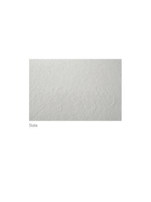 Plato de ducha de resina Gel Coat Slate 3 cm altura acabado pizarra
