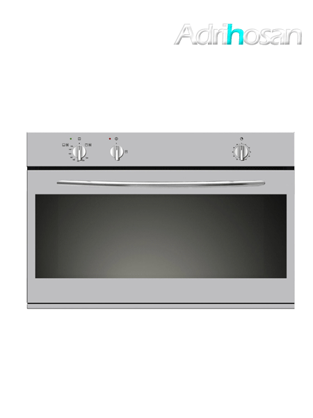 Horno de gas independiente 90 cm con grill acero inoxidable HG91I Vitrokitchen