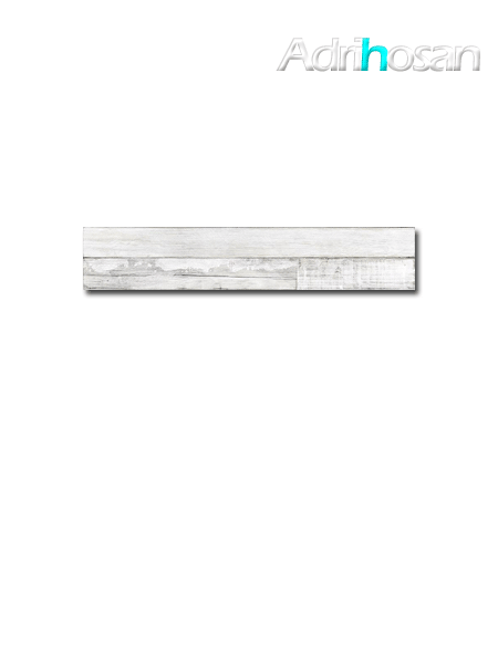 Madera porcelánica artwood white mate 23,3x120 cm (1.68 m2/cj)