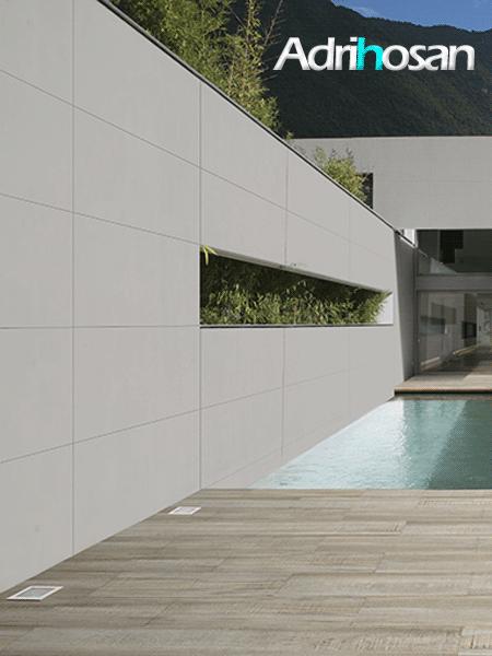 Pavimento porcelánico rectificado técnico blanco 60x120 cm (1,44 m2/cj)