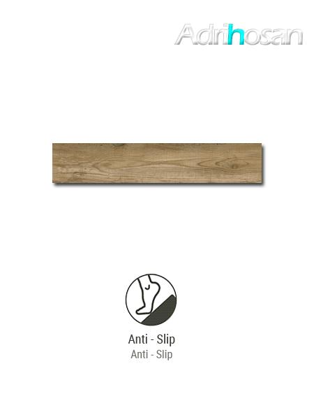 Porcelánico antideslizante  imitación madera Bosco Natural 23.3x120 cm(1.12 m2/cj)