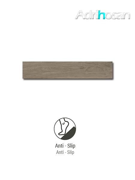 Porcelánico antideslizante  imitación madera Kenia Natural 23.3x120 cm(1.12 m2/cj)