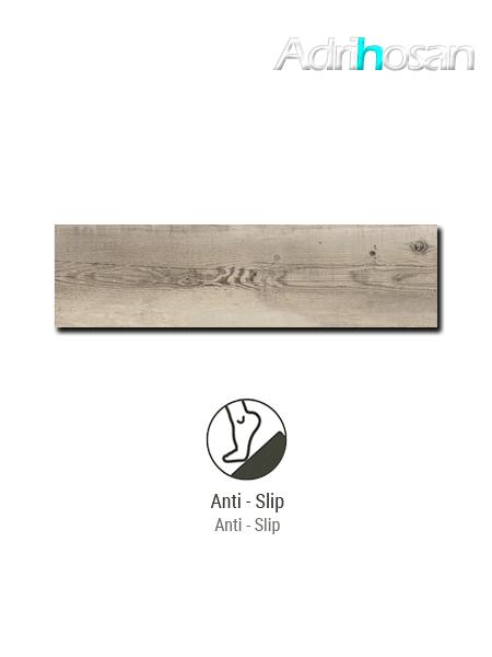 Pavimento antideslizante porcelánico Norway natural 22x84 cm imitación madera (0,74 m2/cj)