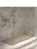 Plato de ducha textura pizarra resinas minerales Urban Adrihosan