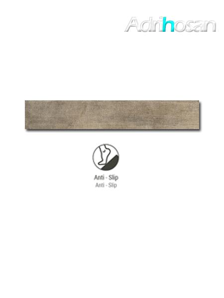 Pavimento porcelánico antideslizante rectificado Wonder natural 19,7x120 cm imitación madera (1.20 m2/cj)
