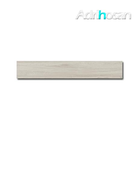 Pavimento porcelánico rectificado Oslo almond 19,7x120 cm imitación madera (1.20 m2/cj)