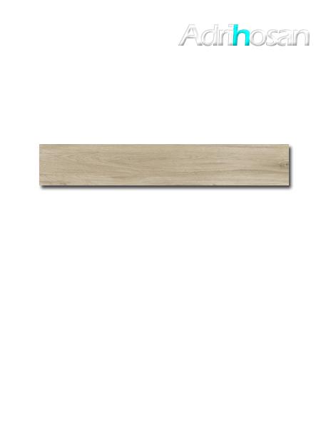 Pavimento porcelánico rectificado Oslo honey 19,7x120 cm imitación madera (1.20 m2/cj)
