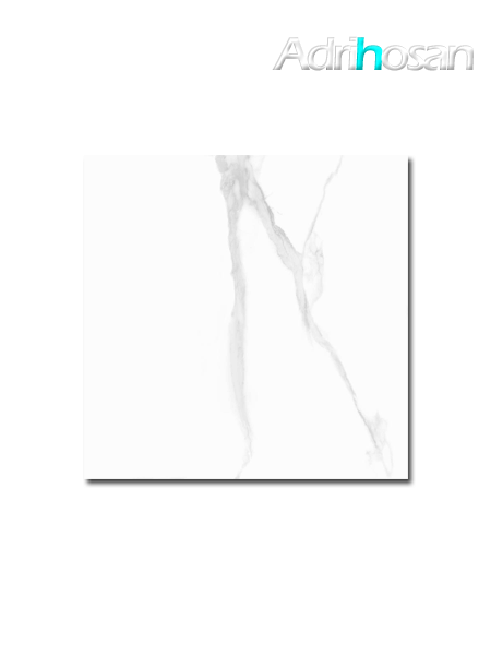 Pavimento porcelánico imitación Calacatta White Soul brillo 60 x 60 cm (1.44 m2/cj)
