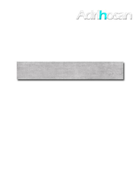 Pavimento porcelánico rectificado Wonder grey 19,7x120 cm imitación madera (1.20 m2/cj)