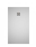 Plato de ducha Solid Surface Ras blanco | Adrihosan