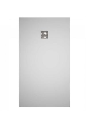 Plato de ducha Solid Surface Ras blanco   Adrihosan