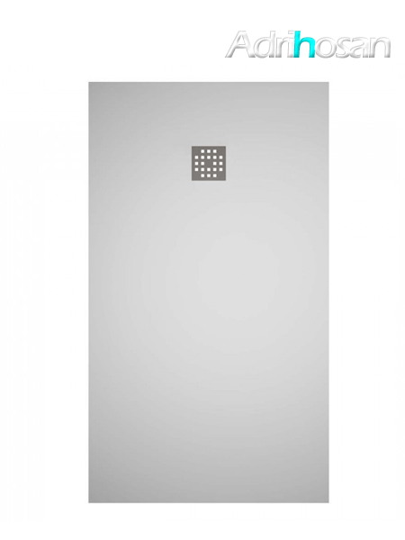 Plato de ducha Solid Surface Ras blanco Antideslizante C2