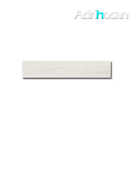 Porcelánico imitación madera Kenia White 23.3x120 cm(1.12 m2/cj)