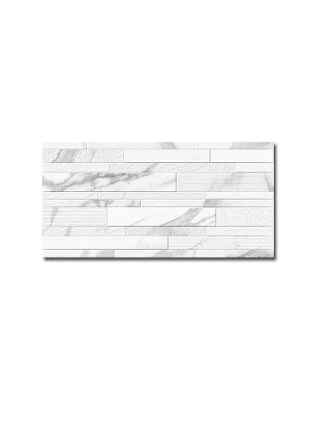 Revestimiento decorado porcelánico imitación calacatta White Soul mate 30 x 60 cm. | Adrihosan
