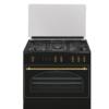 Cocina Rústica de gas 90x60 cm RU9060 Gas butano o natural Vitrokitchen