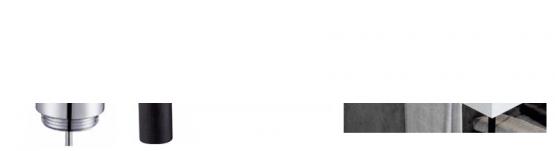Mueble de baño metálico a suelo negro andros (estructura metálica negra) | Adrihosan