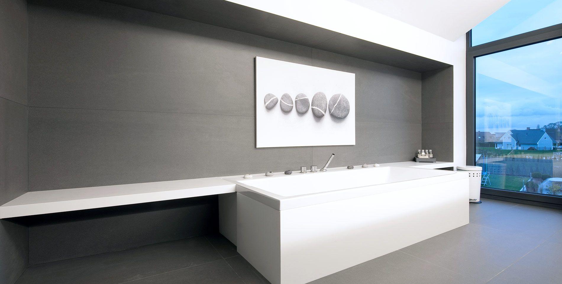 Lámina porcelánica gran formato poco espesor Techlam Basic Collection Antracita