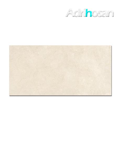 Pavimento porcelánico rectificado Crema marfil brillo 60 x 120 cm (1.44 m2/cj)