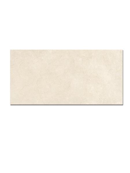 Pavimento porcelánico rectificado Crema marfil brillo 60 x 120 cm