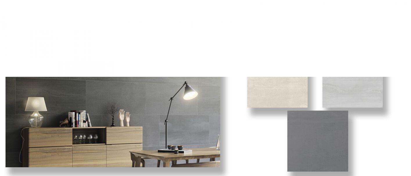 Pavimento porcelánico rectificado Space 60x120 cm