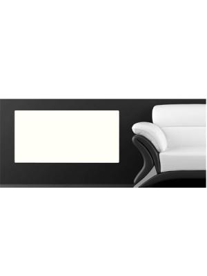 Radiador eléctrico Silicium Smart 100x50 cm tecnología Dual kherr