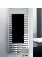 Radiador para calefacción central (agua) Quadro en blanco o cromo