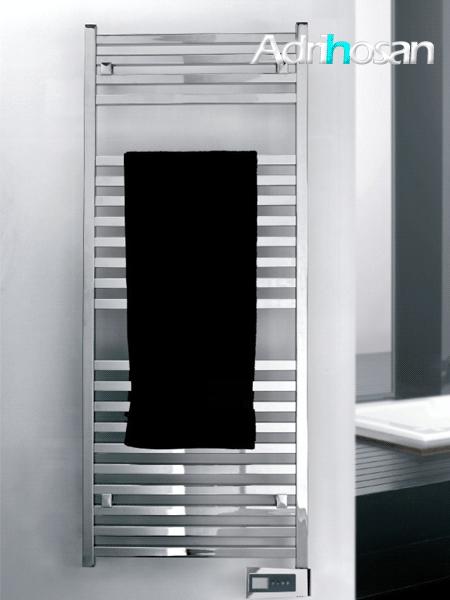 Radiador para calefacción central (agua) Quadro en blanco o cromo.