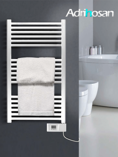 Radiador para calefacción central (agua) Uno en blanco,negro o cromo.