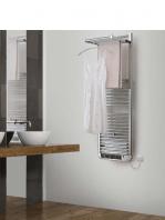 Radiador para calefacción mixto (agua-electricidad) To dry up en blanco o cromo