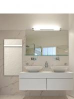 Radiador toallero eléctrico Silicium Smart Pro tecnología Dual kherr