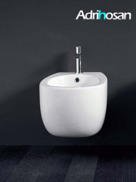 Bide suspendido Milk blanco 52x34,5xh.28.5 cm NIC design
