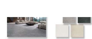 Pavimento porcelánico rectificado Space blanco 60x120 cm.