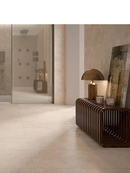 Pavimento porcelánico rectificado Space Crema 60x60 cm (1.44 m2/cj)
