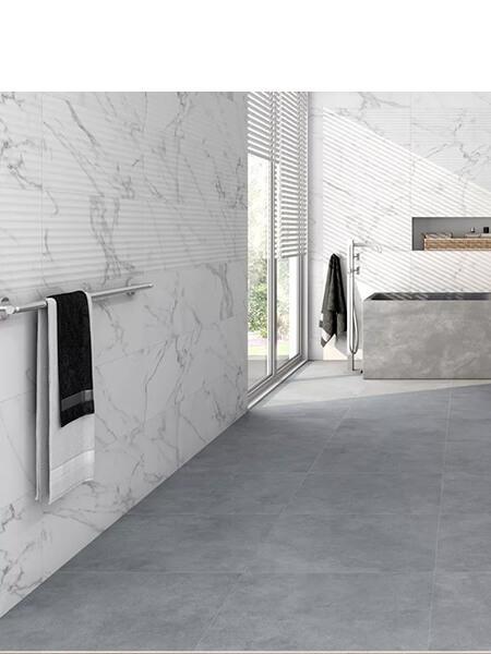 Pavimento porcelánico rectificado Space gris 60x60 cm (1.44 m2/cj)