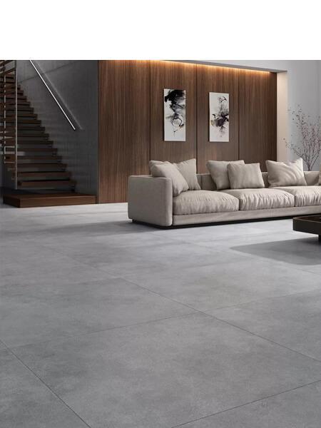 Pavimento porcelánico rectificado Space gris 120x120 cm (1.44 m2/cj)