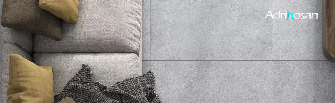 Pavimento porcelánico rectificado Space gris 60x120 cm.
