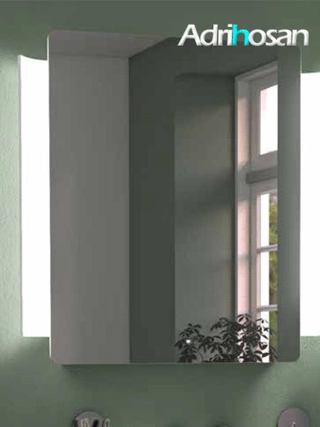 Espejo con iluminación ABBRACCIO Design: Itamar Harari