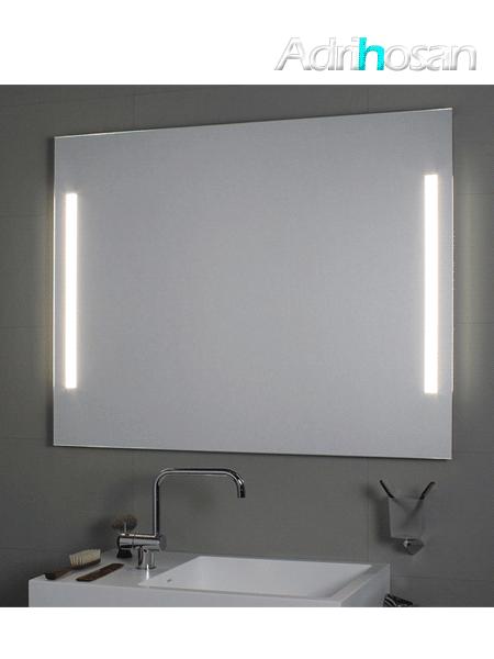 Espejo con iluminación frontal led Comfort lateral (accesorios)
