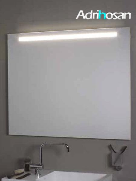 Espejo con iluminación frontal led Comfort superior