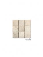 Malla de mármol travertino Vesubio 30x30 cm