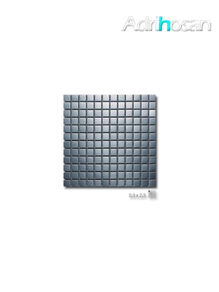 Malla decoración Acero Argos 30 x 30 cm tesela de 2.3 x 2.3 cm (venta por mallas)