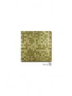 Malla decoración Acero Gold 30 x 30 cm