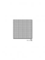 Malla decoración Acero Silver 30 x 30 cm | Adrihosan