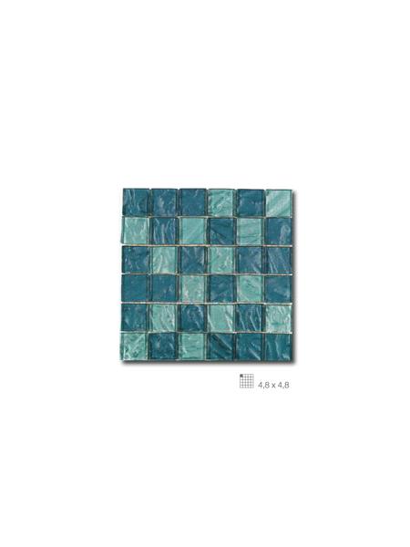 Malla decoración Base cristal Andes Acqua 30 x 30 cm