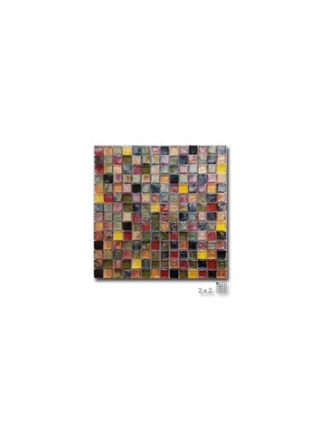 Malla decoración Base cristal Elegance Caramelo 30 x 30 cm