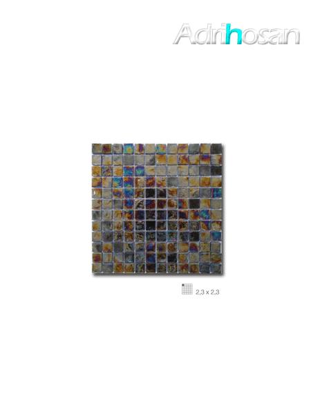 Malla decoración Base cristal Boreal Noche 30 x 30 cm tesela de 2.3 x 2.3 cm (venta por mallas)