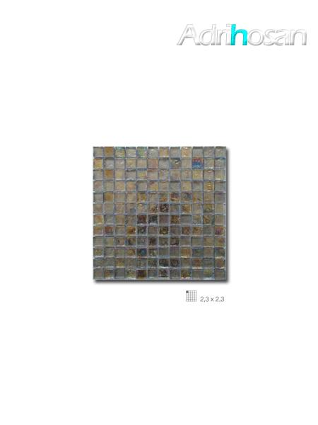 Malla decoración Base cristal Boreal Perla 30 x 30 cm tesela de 2.3 x 2.3 cm (venta por mallas)