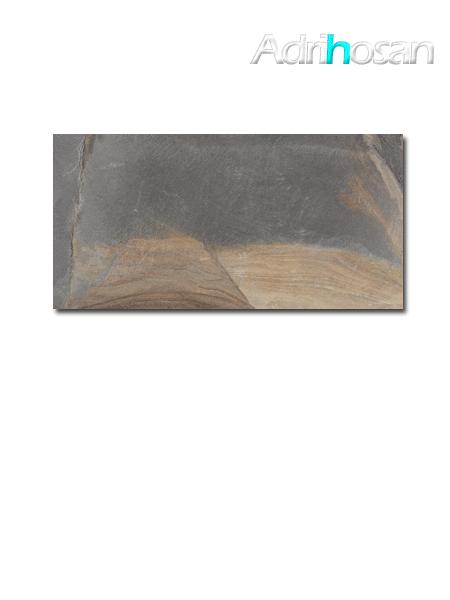 Pavimento porcelánico imitación pizarra Stonelife Multislate 30 x 60 cm (1.44 m2/cj)