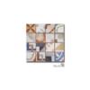 Azulejo porcelánico enmallado Cartago 29 x 29 cm tesela de 7.2 x 7,2 cm